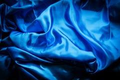abstrakt textur för siden- tyg Royaltyfri Bild