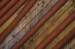 Abstrakt textur för träbräde- och polbakgrund royaltyfri foto