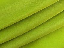 abstrakt textur för tyggreensilk Arkivfoton