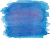 Abstrakt textur för vattenfärghandmålarfärg Vektor Illustrationer