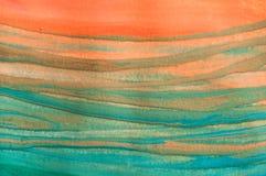 Abstrakt textur, gouachemålningdetalj royaltyfri bild