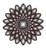 Abstrakt textur i cirkel Royaltyfri Fotografi
