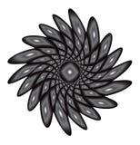 Abstrakt textur i cirkel Royaltyfri Bild