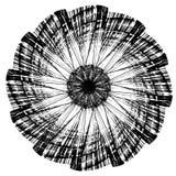 Abstrakt textur i cirkel Royaltyfria Bilder