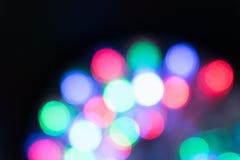 Abstrakt textur, ljus bokehbakgrund Royaltyfria Foton