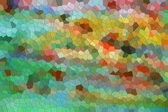 Abstrakt textur med färgrika former, vax som strukturen Royaltyfri Fotografi