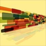 Abstrakt textur med fyrkantmodelldesign Royaltyfri Bild