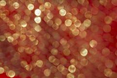 Abstrakt textur med guld blänker att skimra i solen brigham Arkivbild