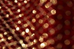 Abstrakt textur med guld blänker att skimra i solen brigham Arkivfoto