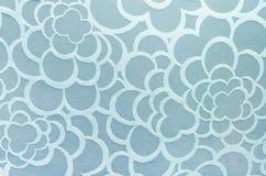 Abstrakt textur och bakgrund för blåttcirkeltyg Royaltyfri Foto