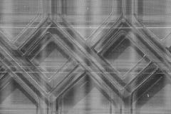 Abstrakt textur och skugga av fönstersmidesjärn Royaltyfri Foto