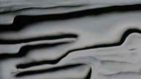 Abstrakt textur på glass yttersida stock video