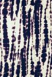 Abstrakt textur som är svartvit på tygbakgrund Fotografering för Bildbyråer