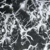 Abstrakt textur som är svartvit på tygbakgrund Royaltyfria Bilder