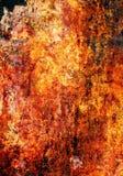 Abstrakt textur som föreställer rostig yttersida Fotografering för Bildbyråer