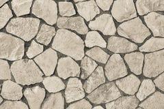 Abstrakt textur som vänder mot stenen av beige färg Royaltyfri Fotografi