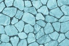 Abstrakt textur som vänder mot stenen av blåttfärg Royaltyfria Foton
