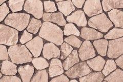 Abstrakt textur som vänder mot stenen av brun färg Royaltyfria Bilder