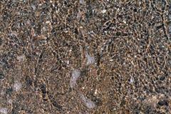 Abstrakt texturbakgrund av vatten och botten Fotografering för Bildbyråer