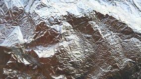 Abstrakt texturbakgrund för aluminum folie Royaltyfri Fotografi