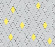 Abstrakt texturbakgrund, sömlös vektor Seamless geometrisk modell för vektor Texturromb Arkivbilder