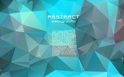 Abstrakt textured poligonalny rozmyty trójboka tło ilustracji