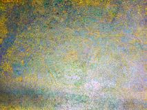 abstrakt texturmodell på hårt stål med färg av ridit ut s Arkivbild