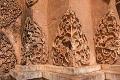 Abstrakt thailändskt utformar. Arkivfoto