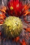 Abstrakt themed bakgrundsjul Royaltyfria Foton