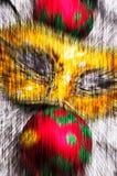 Abstrakt themed bakgrundsjul Royaltyfri Bild