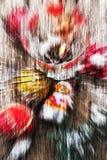Abstrakt themed bakgrundsjul Arkivbild