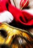 Abstrakt themed bakgrundsjul Royaltyfri Fotografi