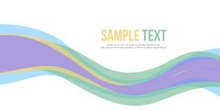 Abstrakt titelrad för designbanerwebsite Royaltyfri Foto