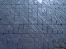 Abstrakt tolkning 3d av den metalliska väggen Royaltyfria Bilder