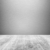 Abstrakt tom bakgrund för fyrkantbetonginre Royaltyfri Foto