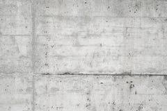 Abstrakt tom bakgrund Foto av tom betongväggtextur Grå färger tvättade cementyttersida horisontal Royaltyfria Foton