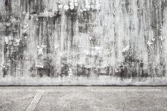Abstrakt tom grungy inre bakgrund Royaltyfri Fotografi