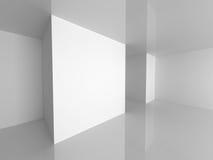 abstrakt tom interior Modern arkitekturbakgrund Arkivfoton
