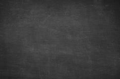 Abstrakt tom krita gned ut på svart tavlabakgrund Arkivbilder