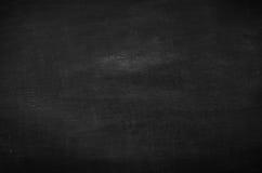 Abstrakt tom krita gned ut på svart tavlabakgrund Royaltyfria Bilder