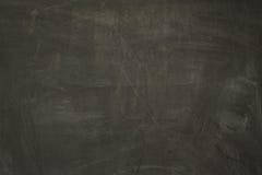 Abstrakt tom svart tavlabakgrund Arkivfoton