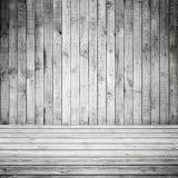 Abstrakt tom vit träinre Arkivfoton
