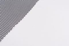 Abstrakt torkduk för bakgrundssvartingrepp med små celler, textur, bakgrund, modell Royaltyfria Bilder