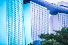 Abstrakt torn - Singapore Royaltyfria Bilder