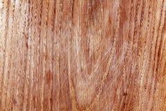 Abstrakt träbrädetextur med skrapor Arkivfoto
