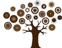 Abstrakt träd Royaltyfria Foton