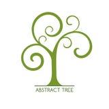 Abstrakt träd Arkivbild