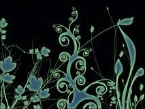 abstrakt trädgård Royaltyfri Bild