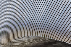 Abstrakt träpanelbakgrund/textur Royaltyfri Fotografi