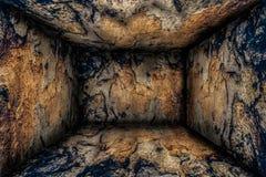 Abstrakt träruminre Royaltyfria Bilder